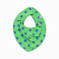 Pippi bib sjaal groen met ster