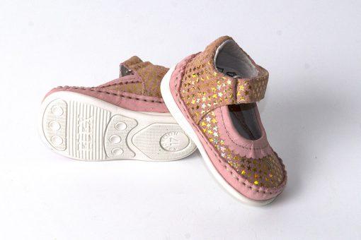 Bardossa meisjesschoen roze Flex AK sterren