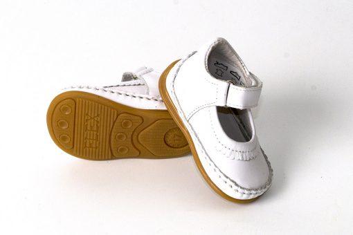 Bardossa Flex-G Blanco witte meisjesschoenen