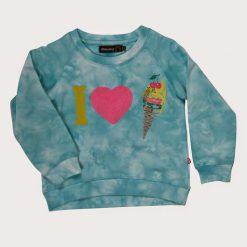 Minymo meisjes sweat shirt Turquoise