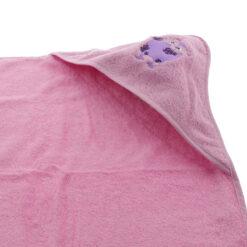 Pippi - Badcape - roze - Eileen4Kids
