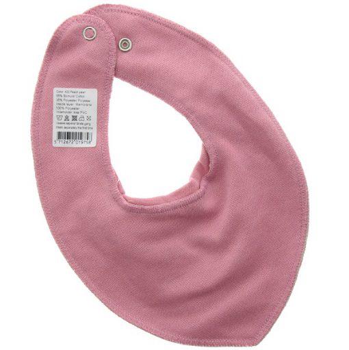Pippi bib slab set roze