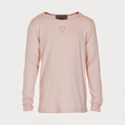 Creamie Crissy LS basic Shirt roze