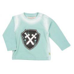 Minymo jongens shirt Aqua Sea