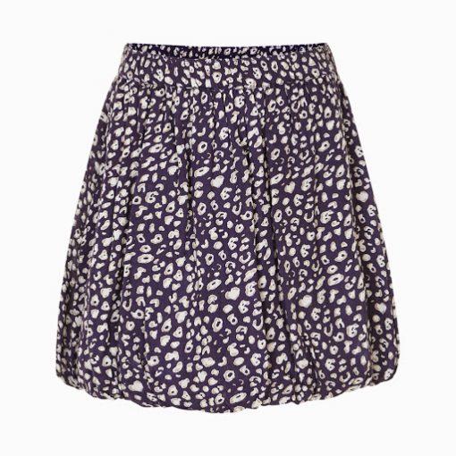 Creamie Irene blauwe rok