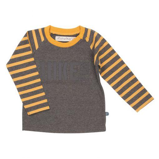 Minymo Cody shirt Grey Melange