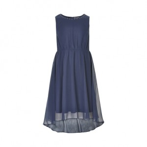 Creamie dress blue Basilica jurk