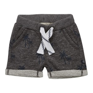 Minymo - jongens sweat korte broek - Grey Melange