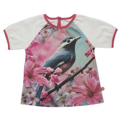 Minymo meisjes shirt Fani bird