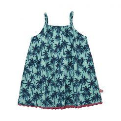 Minymo – jurk – spagettibandjes – holiday – mint - Eileen4Kids