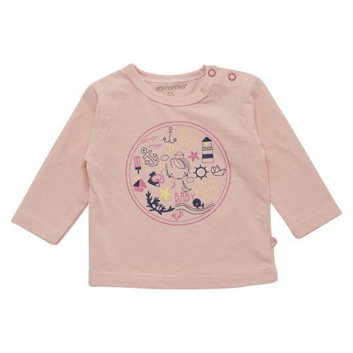 Minymo meisjes shirt roze