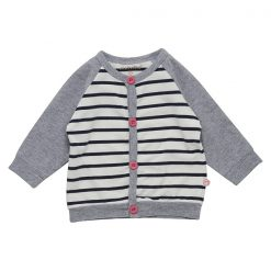 Minymo Fida baby vest YD stripe roze