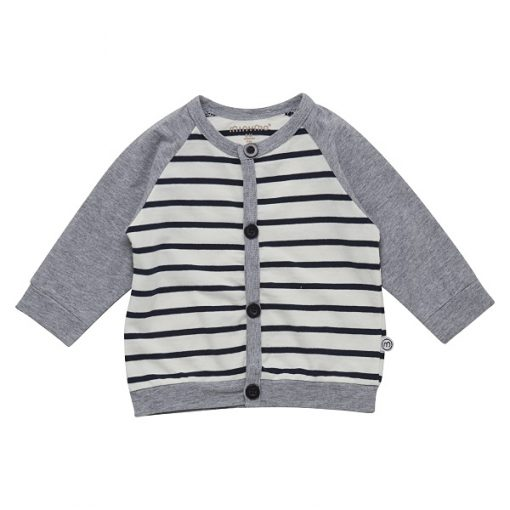 Minymo Fida newborn baby vest YD stripe