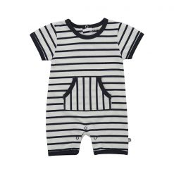 Minymo Fida newborn playsuit YD stripe Blue
