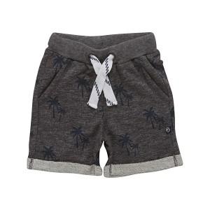 Minymo - jongens sweat korte broek - Grey Melange