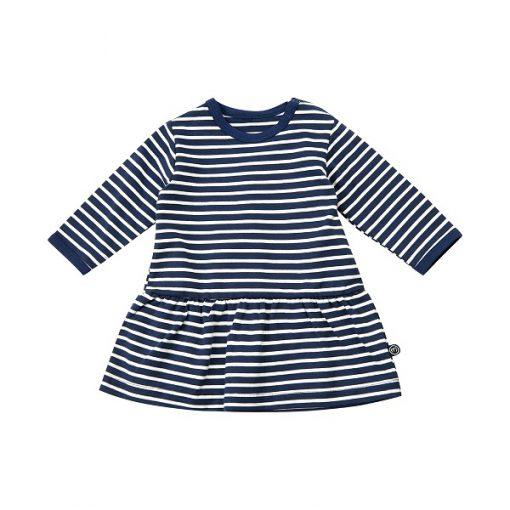 Minymo Grow newborn organic baby dress