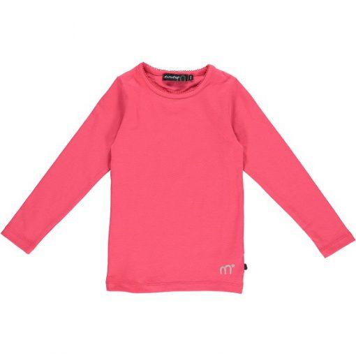 Minyno meisjes shirt lange mouwen roze - Eileen4Kids