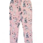 Hebe multi licht roze legging met dieren - Eileen4Kids