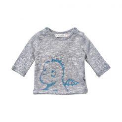 Minymo newborn baby Hai blue sweat