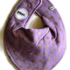 Pippi bib set frosted pearl