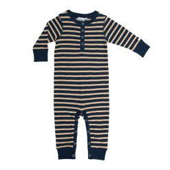 Ebbe Amore bodysuit winter navy/sand stripe