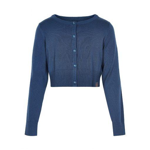Creamie Mijanne kort vest midnight blue