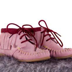 Bardossa - meisjes kinderschoen - Kimba Serraje rosa burdeos - roze