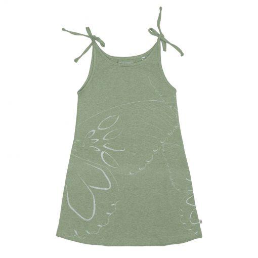 Ebbe zomer jurk pastel green melange