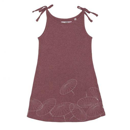 Ebbe zomer jurk washed rose melange