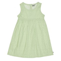 Ebbe katoenen jurk groen