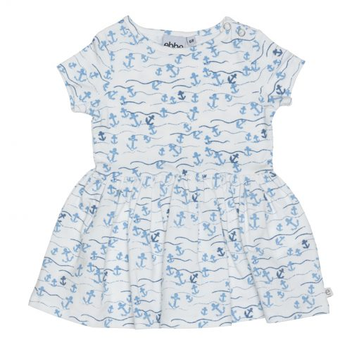 Ebbe zomer jurk floating anchors