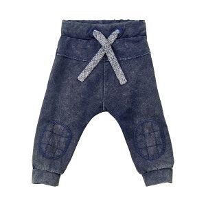 Minymo jongens broek denim look blauw - Eileen4Kids