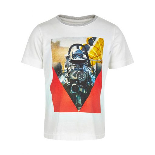 Minymo – jongens t-shirt – wit
