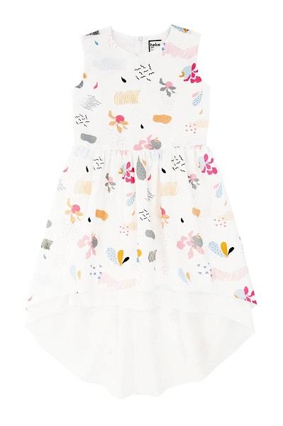 Hebe jurk wit met petticoat