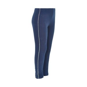 Minymo Katia legging dress blue