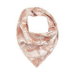 Minymo Kim scarf bib cameo rose