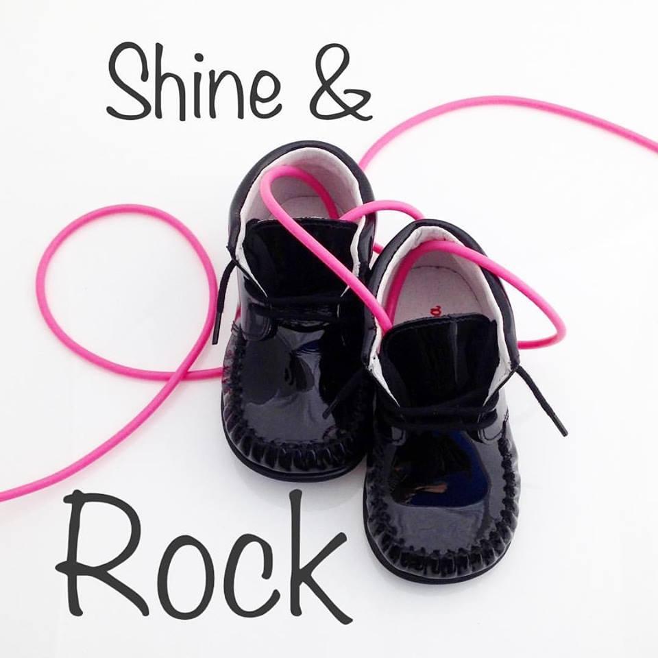 Bardossa meisjesschoen zwart lak leer
