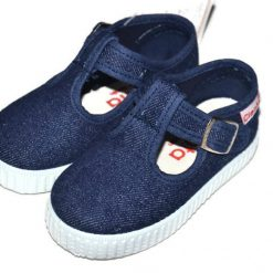 Cienta Canvas kinderschoen denim