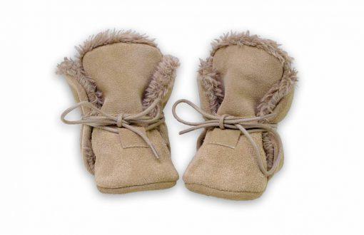 Hobea - winter - babysloffen - bruin