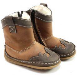 Bardossa - Charro Ariz - kinderschoen met bont- bruin