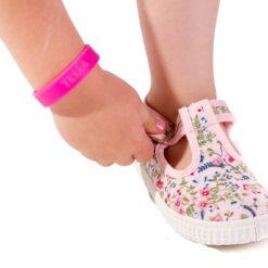 Cienta - canvas kinderschoen - gebloemd - roze - Eileen4Kids