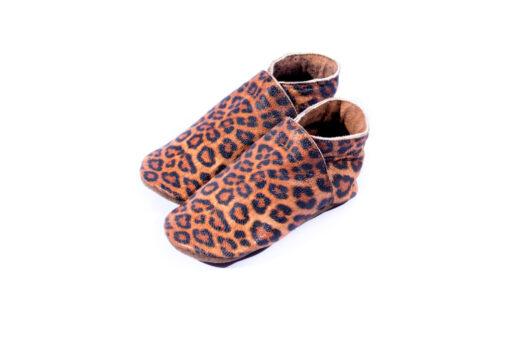 Baby Dutch - babyslofjes - tijgerprint - Eileen4Kids
