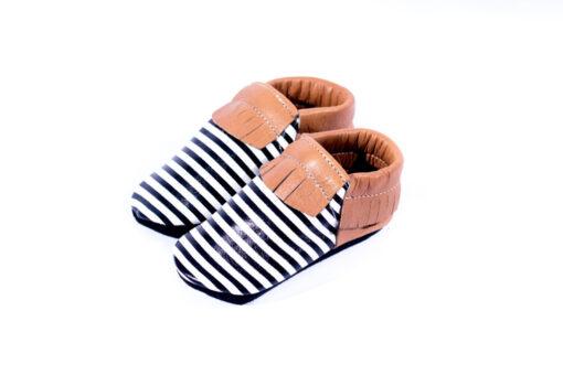 Baby Dutch - babyslofjes - gestreept - Eileen4Kids