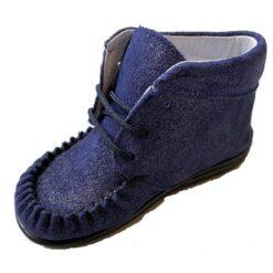 Bardossa - kinderschoen - Kimba - glitter blauw - Eileen4Kids