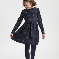 Me Too - jurk - donker blauw - Eileen4Kids