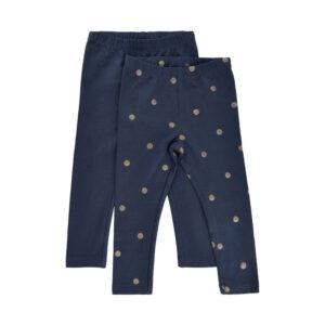 Me Too - legging - 2-pack - donker blauw - Eileen4Kids