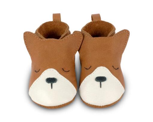 Boumy - babyschoentje - dune - dog - Eileen4Kids