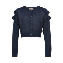 Creamie - kort vest - blauw met glitters - Eileen4Kids