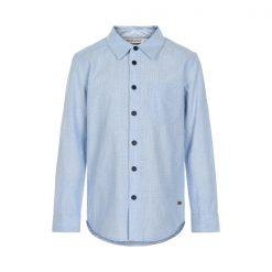 Minymo jongens blouse blauw - Eileen4Kids