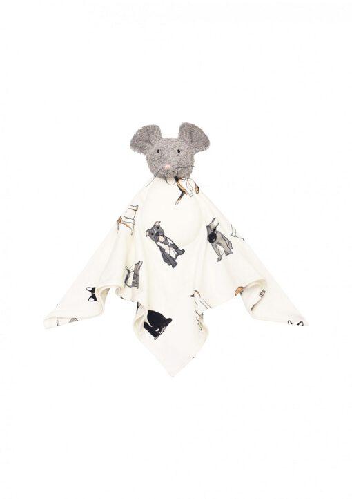 Hebe - knuffeldoekje - muis - Eileen4Kids